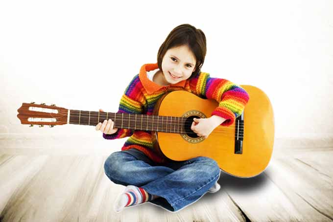 Гитара для обучения ребенка