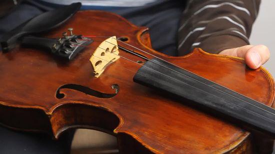 Как настроить скрипку без фортепиано