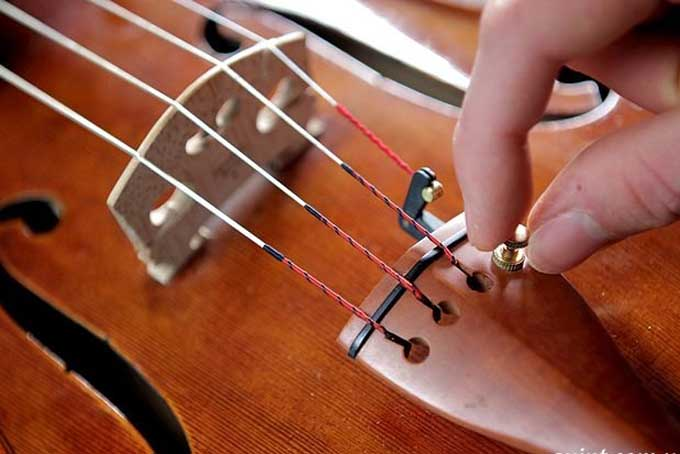 Как настроить скрипку после покупки
