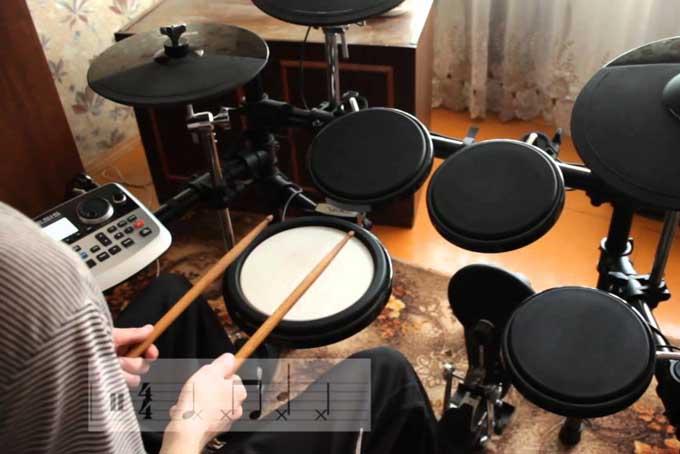 Как научится играть на барабанах