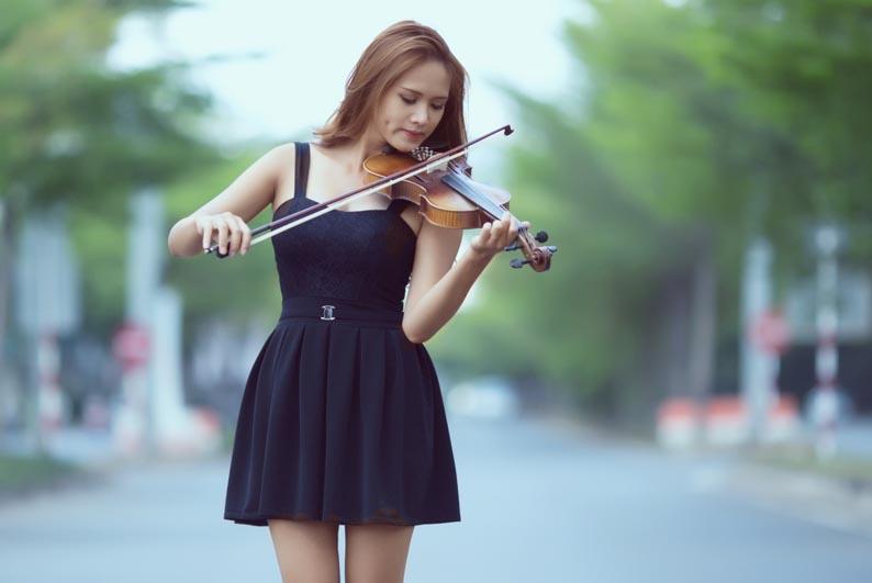 Как выбрать смычок для скрипки ¼